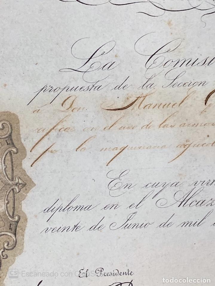 Medallas temáticas: EXPOSICION BÉTICO EXTREMEÑA. MEDALLA A D. MANUEL GROSSO. SEVILLA, 1874. VER FOTOS - Foto 8 - 210196035