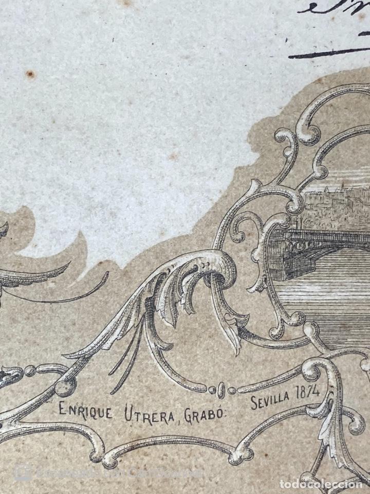 Medallas temáticas: EXPOSICION BÉTICO EXTREMEÑA. MEDALLA A D. MANUEL GROSSO. SEVILLA, 1874. VER FOTOS - Foto 16 - 210196035