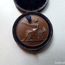 Medallas temáticas: FRANCIA : MEDALLA FRANCESA DE BRONCE, CERTIFICADO DE ESTUDIOS PRIMARIOS, AÑO 1897. ENVÍO GRATUITO.. Lote 210227726