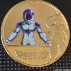 Medalhas temáticas: EXCLUSIVA MONEDA DE ORO DE COLECCION DE DRAGON BALL - EDICIÓN LIMITADA -. Lote 244197590