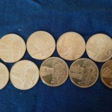 Medallas temáticas: MEDALLAS BAÑADAS EN ORO OLIMPIADAS 1964-2000. Lote 210572393