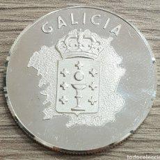 Medallas temáticas: BONITA MEDALLA EN PLATA 999 GALICIA XACOBEO 1993. PESO 17 GRAMOS. Lote 210634909