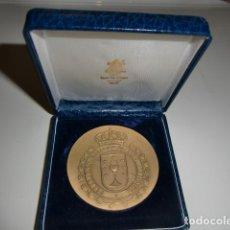 Medallas temáticas: MEDALLA EN ESTUCHE FEDERACION GALLEGA DE TIRO OLIMPICO. Lote 210775002