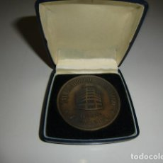 Medallas temáticas: MEDALLA EN ESTUCHE CENTENARIO 1880 - 1980 CAJA DE AHORROS DE SANTIAGO. Lote 210775391