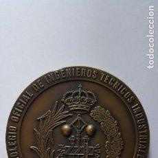 Médailles thématiques: COLEGIO OFICIAL DE INGENIEROS TÉCNICOS INDUSTRIALES-EL INGENIERO TÉCNICO Y LA ENSEÑANZA. ZAMORA 1998. Lote 210826761