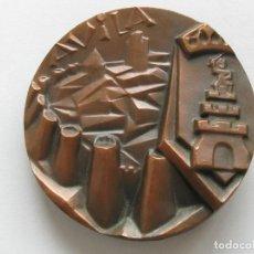 Medallas temáticas: MEDALLA DE AVILA , 1985 . CASA DE MONEDA Y TIMBRE . 420 GRAMOS/86 MM. Lote 210956209