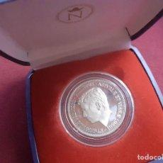 Medallas temáticas: PRÍNCIPE FELIPE 1986. MEDALLA NUMERADA DE PLATA PURA EN CAJA. Lote 210967889