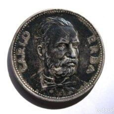 Medallas temáticas: MEDALLA CENTENARIO FARMACÉUTICA CARLO ERBA - 1953 - BERTONI (MILÁN) - PLATA 800 (CON CONTRASTES) -. Lote 210981481