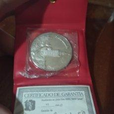 Medallas temáticas: MONEDA CONMEMORATIVA DE SEVILLA DE PLATA. Lote 211392836