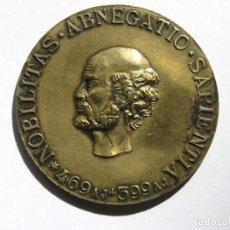 Medallas temáticas: MEDALLA INAUGURACIÓN EMPRESA FARMACÉUTICA ROCHE - SÓCRATES - 1896 - O/ 3,8 CMS.. Lote 211409249