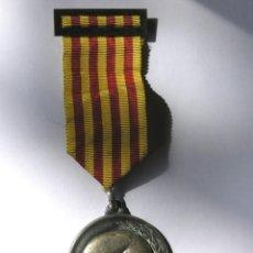 Medallas temáticas: MEDALLA I CENTENARI CORS DE CLAVÉ -CERCLE CATALÀ ST. ANDREU DE LA BARCA- 1980 -CON CINTA Y PASADOR -. Lote 211410325