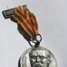 Medallas temáticas: MEDALLA CENTENARI CORALS CLAVÉ -SOCIETAT CORAL L'UNIÓ (CASTELLBISBAL)- 1980 - CON CINTA Y PASADOR -. Lote 211411444