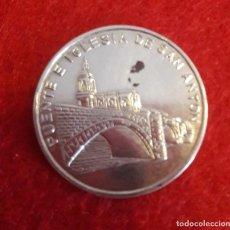 Medallas temáticas: MEDALLA COLECCIÓN: JOYAS DE BIZKAIA, PLATA. Lote 211424211
