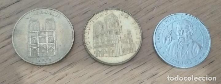 3 MONEDAS DE COLECCIÓN. VER DESCRIPCIÓN. (Numismática - Medallería - Temática)