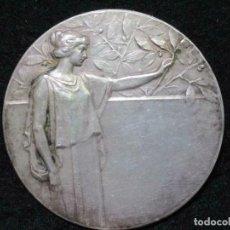 Medallas temáticas: MEDALLA DE PLATA-DEPARTAMENTO LOCAL DE COCHEM VERD. L. 1922-Ø APROX. 51 MM 60 GR. PLATA. Lote 211815467