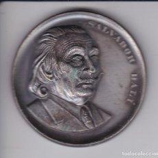 Medaglie tematiches: MEDALLA DE SALVADOR DALI TEATRO MUSEO FIGUERAS 28-IX-1974 DIAMETRO 5 CM,. Lote 211872525