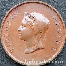 Medallas temáticas: EXPOSICIÓN INTERNACIONAL DE LA SALUD, LONDRES 1884 - MEDALLA CON ESTUCHE ORIGINAL. Lote 212012980