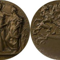 Medallas temáticas: MEDALLA DE LA EXPOSICIÓN INTERNACIONAL DE BRUSELAS DE 1897. Lote 212013972