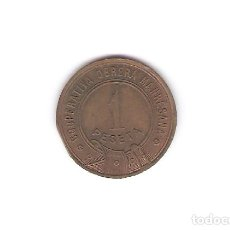Medallas temáticas: 1 FICHA 1 PESETA COPERATIVA OBRERA MANRESA. Lote 212506260