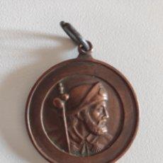 Medallas temáticas: MEDALLA SANTIAGO COMPOSTELA AÑO SANTO 1965. Lote 213393543