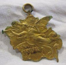 Medallas temáticas: MEDALLA CARNAVAL TEATRO NOVEDADES BARCELONA CERTAMEN INFANTIL DE TRAJES 1919. 3.5 X 4 CM. Lote 213485898