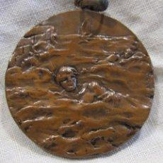 Medallas temáticas: MEDALLA NATACIÓN CALDETAS 8 SEPTIEMBRE 1916. FIRMADA VALLMITJANA. DIAM. 3,2 CM. CALDETES. Lote 213488900