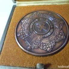 Medallas temáticas: MAGNIFICA MEDALLA EN RELIEVE ASAMBLEA PROVINCIAL CRUZ ROJA ESPAÑA BARCELONA. Lote 213655066