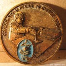 Medallas temáticas: MEDALLA INAUGURACIÓ PORT ESPORTIU PESQUER DE MATARÓ. PRIMERA FASE. 1991. DIÁM. 7 CM. METAL Y ESMALTE. Lote 213970143