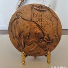 Medallas temáticas: MEDALLA DE COBRE FNMT - BANDERILLAS - SERIE TAUROMAQUIA. Lote 214306235