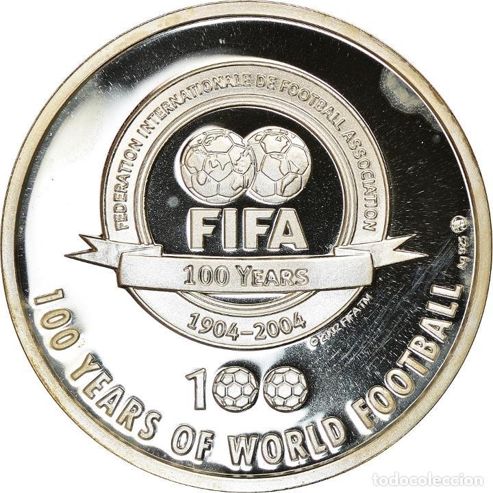 Medallas temáticas: Países Bajos, medalla, The 100 Greatest Living Players selected by Pelé - Foto 2 - 214311823