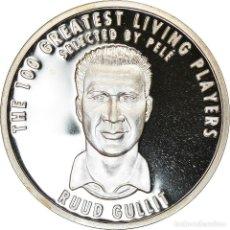 Medallas temáticas: PAÍSES BAJOS, MEDALLA, THE 100 GREATEST LIVING PLAYERS SELECTED BY PELÉ. Lote 214311823