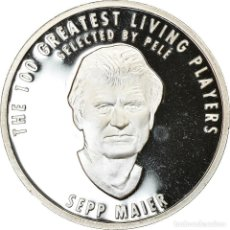 Medallas temáticas: ALEMANIA, MEDALLA, THE 100 GREATEST LIVING PLAYERS SELECTED BY PELÉ, SEPP. Lote 214311943