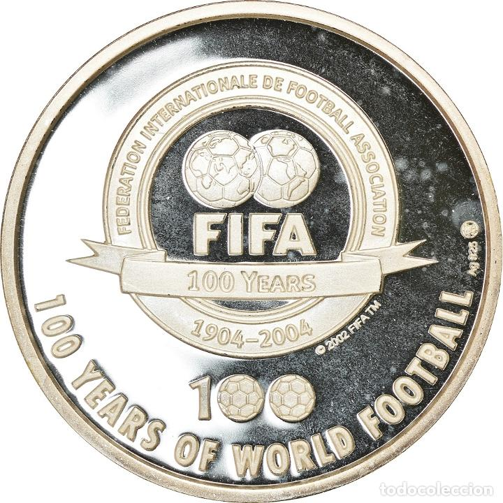 Medallas temáticas: Brasil, medalla, The 100 Greatest Living Players selected by Pelé, Ronaldinho - Foto 2 - 214312228