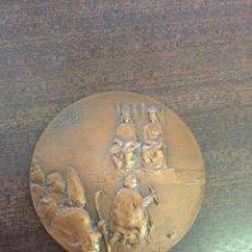 """Medallas temáticas: MEDALLA """"DESCUBRIMIENTO DE AMÉRICA"""", BRONCE, FÁBRICA NACIONAL DE MONEDA Y TIMBRE (FNMT), 1984. Lote 214722025"""
