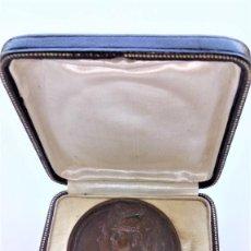 Medallas temáticas: MEDALLA EXPOSICION BELLAS ARTES,1915 PARA EL PINTOR JOAN CARDONA LLADOS,REY ALFONSO XIII EN UNIFORME. Lote 214996246