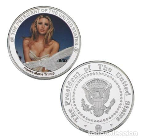Medallas temáticas: COLECCION 5 MONEDAS IVANKA MARIE TRUMP - HIJA PRESIDENTE ESTADOS UNIDOS - PLATA - Foto 3 - 216413210