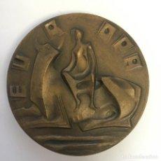 Medallas temáticas: MEDALLA (MEDALLÓN) EN BRONCE, ALEGÓRICA DE EUROPA - DECADA 1970. Lote 216909998