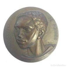 Medallas temáticas: MEDALLA BRONCE - SAN MARTIN DE PORRES - PALENCIA - DÉCADA 1970 - AUTOR: FERNANDO JESÚS. Lote 216910663