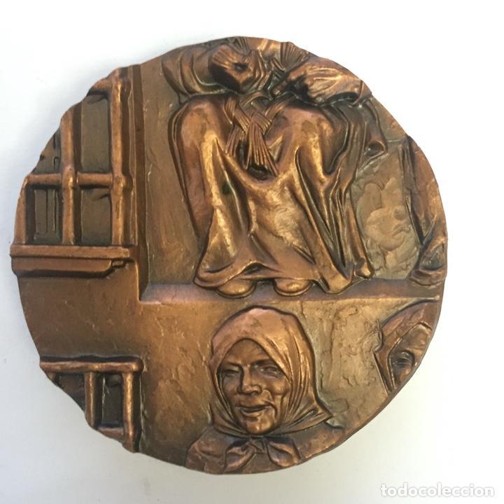 Medallas temáticas: MEDALLA (MEDALLÓN), BRONCE, CÁCERES - FNMT, 1978 - Foto 2 - 216910958