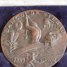 Medallas temáticas: MEDALLA 125 ANIVERSARIO BANCO DE BILBAO. Lote 217003512