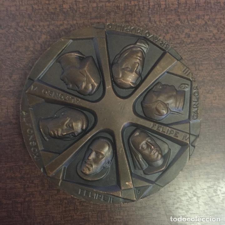Medallas temáticas: MEDALLA (MEDALLÓN) BRONCE MADRID - BUSTOS DE LOS MEJORES ALCALDES DE MADRID - DECADA 1970 - Foto 2 - 217516061