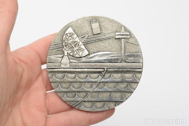 Medallas temáticas: Medalla placa conmemorativa de telefonia, comunicaciones - Foto 2 - 218033066
