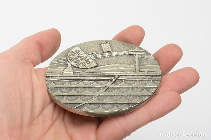 Medallas temáticas: Medalla placa conmemorativa de telefonia, comunicaciones - Foto 4 - 218033066