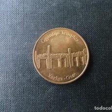 Medallas temáticas: MEDALLA TOKEN TEMPLO MEGALITICO DE GGANTIJA MALTA. Lote 218186101