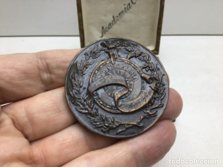 Medallas temáticas: MEDALLA HONORIFICA ACADEMIA COTS - BARCELONA - Foto 3 - 218240250