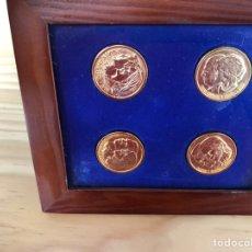 Medallas temáticas: MONEDAS CASA REAL ESPAÑOLA. REYES, HIJOS Y CÓNYUGES. Lote 218289746