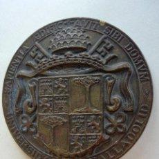 Medallas temáticas: ANTIGUA MEDALLA EN BRONCE DE LA UNIVERSIDAD DE VALLADOLID - DIAMETRO: 61 MM. Lote 219231797