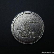 Medallas temáticas: MEDALLA ACADEMIA DE EJERCIAS DE CUBA. 1992. 5 CM DE DIÁMETRO.. Lote 219280833