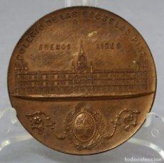 Medallas temáticas: MEDALLA INAUGURACIÓN DEL COLEGIO ESCUELAS PÍAS MARIANO UNZÚE Y MERCEDES BAUDRIX 1900 BUENOS AIRES. Lote 219294998