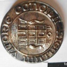 """Medallas temáticas: MEDALLA CONMEMORATIVA """"CONCIL II SIGILLUM"""" VITORIA. Lote 219852877"""